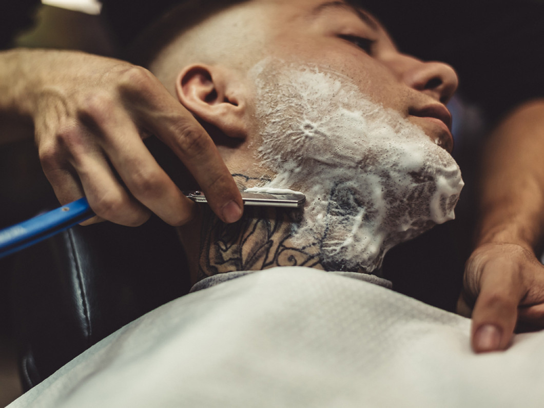 Get an Old-School Shave at Our Barbershop
